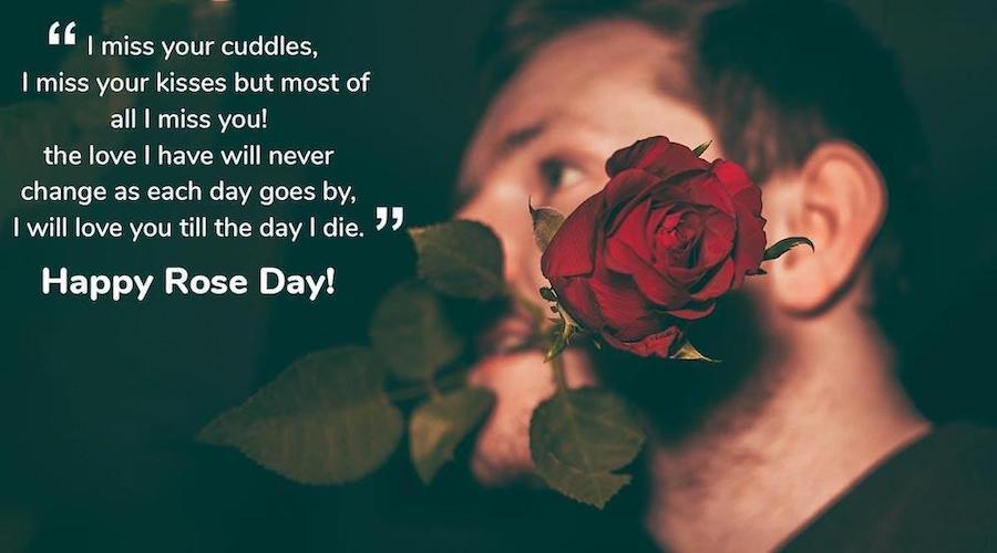 Rose Day Wishes for boyfriend/girlfriend